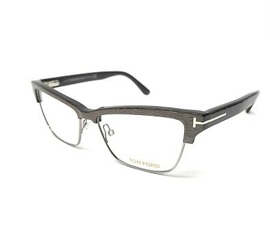33a4270ef1 NEW TOM FORD Tf5364 020 53Mm Striped Grey Eyeglasses Ft5364 Tf 5364 ...