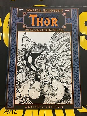 IDW Marvel THE MIGHTY THOR ARTIST'S EDITION