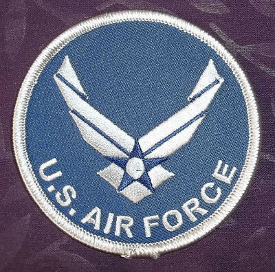 Air Force Patch U.s. Air Force Wings Usaf Patch Military Embroidered Sew/ Iron