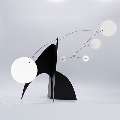 Hip Cool Modern Art Kinetic Stabile Sculpture Midcentury Retro by Atomic Mobiles