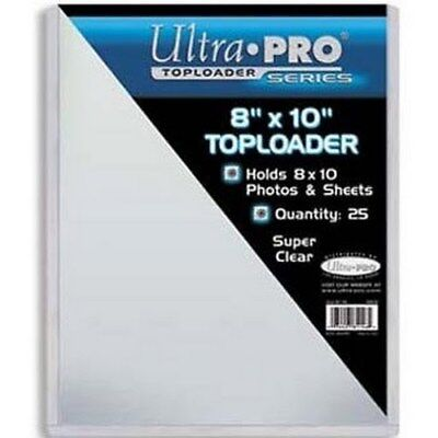 Photo Protector Holds 8 x 10 photos and Sheets Ultra Pro Top Loader 25 Pack