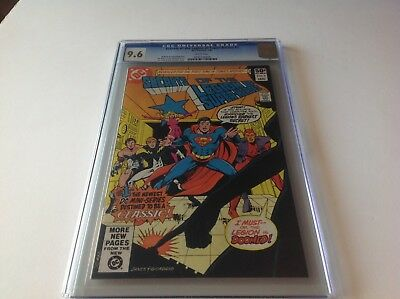 Secrets Of The Legion Of Super Heroes 1 Cgc 9.6 White Pgs Superboy Dc Comics
