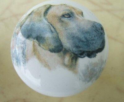 Cabinet Knobs Knob w/ Great Dane Cropped Uncropped DOG