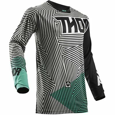 THOR Pulse GeoTec Adult MX Offroad Jersey *NEW* Motorbike MOTO