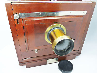 BLAIR COMBINATION WOOD FOLDING BELLOWS CAMERA 5X8 holderS C:1881