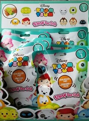 Disney Tsum Tsum Large Vinyl SQUISH-DEE-LISH SERIES 1 *BRAND NEW AND SQUISHY*