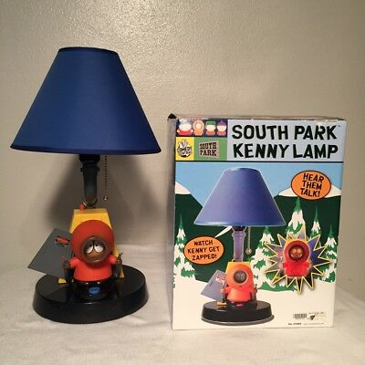 South Park Kenny McCormick Lamp Kenny Lights Up (Electrocuted) and Speaks