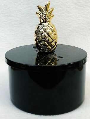 1 Bath & Body Works GOLD PINEAPPLE Candle Lid Magnet Candle Topper Decor Gift