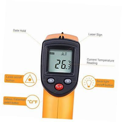 temperature gun non-contact digital laser infrared ir thermometer -58?f to