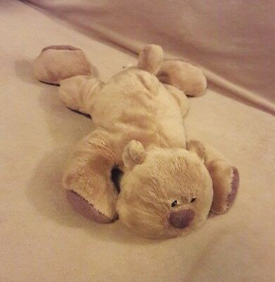 BABIES R US KOALA BABY brown floppy laying down TEDDY BEAR Baby Toy Plush 12""
