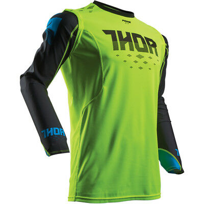 THOR Prime Fit Green MX Offroad Jersey *NEW* Motorbike MOTO