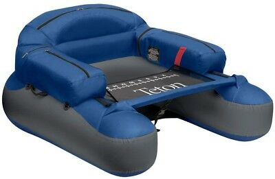 Teton Float Tube w/ Improved Tracking, Steering; Stripping Apron with Fish Ruler