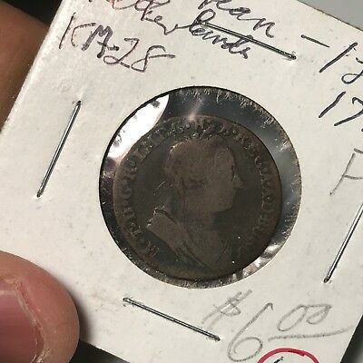 1778 Unknown Country world foreign coin good condition high value