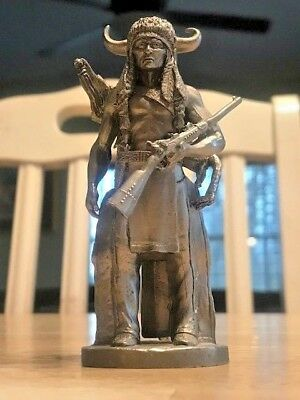 Warrior 1984 Pewter Sculpture Statue by-Superior Models RARE