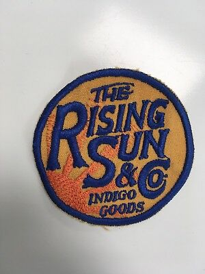 The Rising Sun Jeans & Co. Decorative Patch