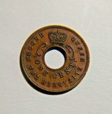 British East Africa 5 Cents 1957   -  King George VI