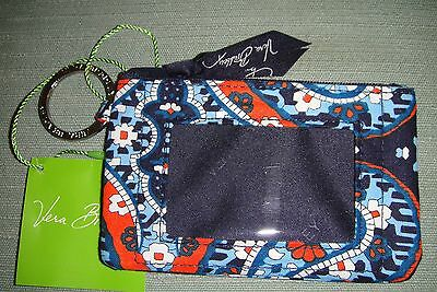 "Vera Bradley  Zip Id Case ""marrakesh"" Retired Pattern  New With Tags! $14"