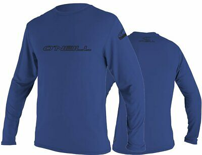 O'Neill Rash Tee Rash Guard Lycra Skins BASIC Longsleeve UV-Shirt Pacific