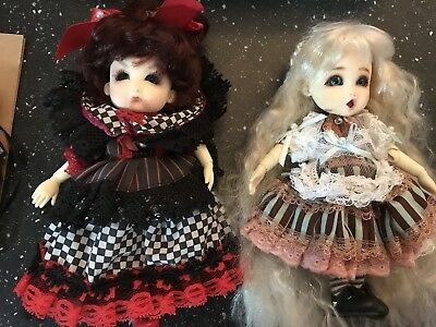 Doll Leaves Red Queen And Alice In Wonderland YOSD Asian Ball Joint Doll