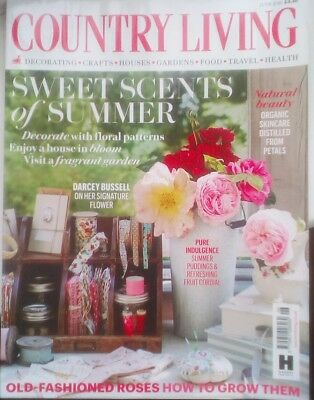 Country Living Magazine june 2016 free post