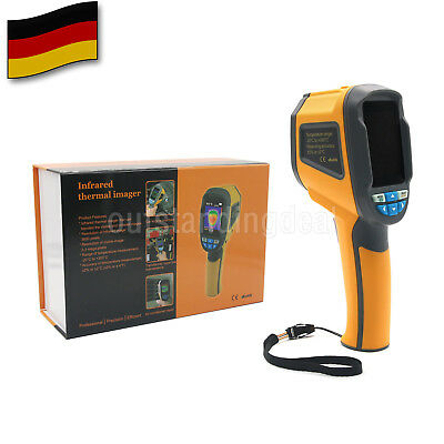 Portable HT-02 Thermal Imaging Camera -20℃~300℃ IR Infrared Thermometer Image DE