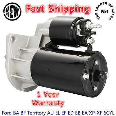 Starter Motor for Ford BA BF Territory AU EL EF ED EB EA XP-XF 6CYL High Quality