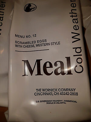 2x US MRE Cold Weather Menu 12 - Selten!!! - KSK - DSO - US Army - Reforger