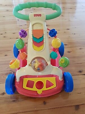 fisher price push trolley