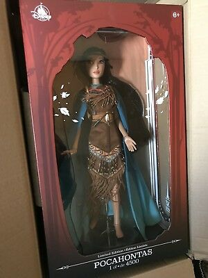 "Limited Edition 17"" POCAHONTAS - Disney Store - SOLD OUT"
