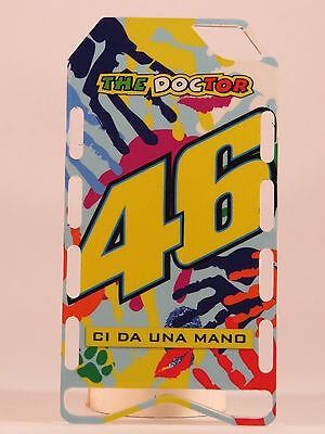 1//12 VALENTINO ROSSI PIT BOARDS BANNER STAND BOX MOTOGP YAMAHA M1 DUCATI NEW