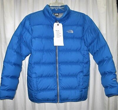 North Face Boys Andes Down Jacket, Jake Blue, Nwd, Xl (18/20)