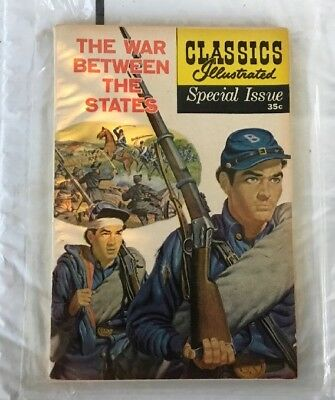 Classics Illustrated Special Issue Comic Book  1961 The War Between The States