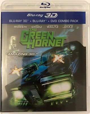 The Green Hornet 3D Blu Ray Dvd 3 Disc Set Free World Wide Shipping Buy It Now