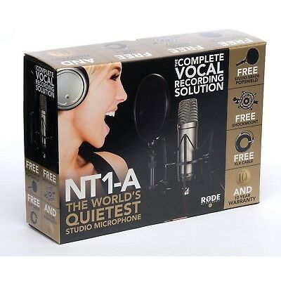 Rode NT1-A Complete Vocal Recording Set - Neuware