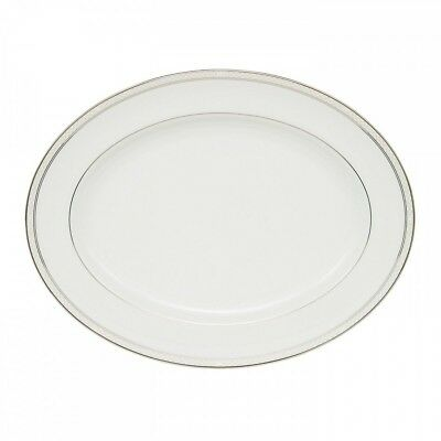 """New In Box Waterford Padova Oval Serving Platter, 15.25"""""""