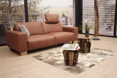calia italia romeo sofa in leder karma 601 chocolate eur picclick de. Black Bedroom Furniture Sets. Home Design Ideas
