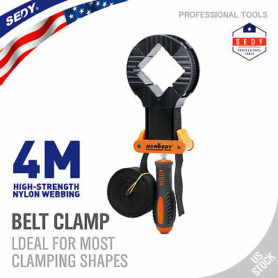 13 FT Band Clamp Woodworking Photo Frame Clamps Strap Holder for Picture