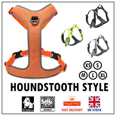Genuine Truelove No-Pull Strong Dog Harness Reflective XS S M L XL 4 Colours