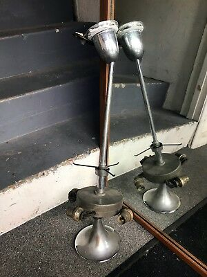 Old 40s 50s art deco style ceiling lamp for restoration