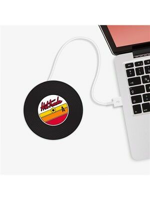 USB Cup Warmer Hot Plate Vinyl Record Collector Musician MUSIC DJ GIFT PRESENT