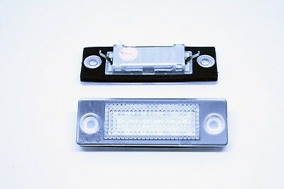 2x LED LICENSE NUMBER PLATE LIGHT VW TOURAN CANBUS