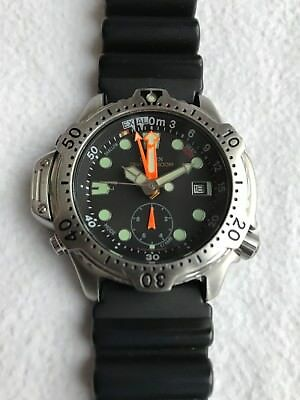 Citizen PROMASTER Taucheruhr Diver's Watch Model No. GN-4-S Aqualand