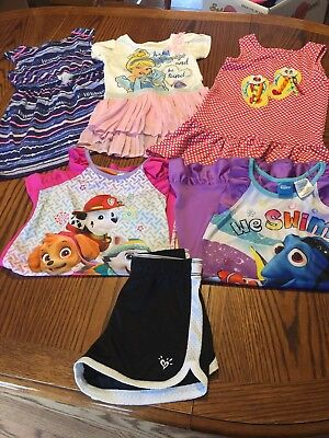 Huge Lot Of Girls 5/5T Clothing And Pjs