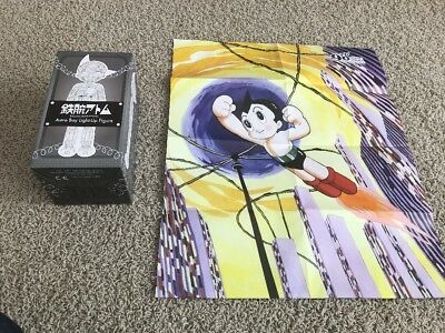 Loot Crate Anime Exclusive - Astro Boy Light-up Figure and Poster - NEW