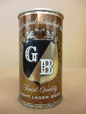 Spectacular BROWN 1950s Griesedieck Brothers Flat Top Beer Can