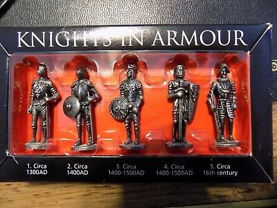 WESTAIR KNIGHTS IN ARMOUR Military Figure ~ Pewter LOT
