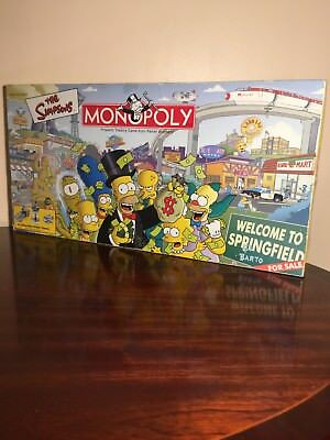 The Simpson's Monopoly Board Game Complete RARE 6 Pewter Tokens