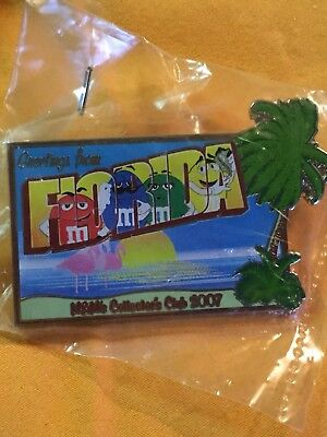 HTF Rare M&M M&Ms Collectors Club Greetings From FLORIDA 2007 Sealed MINT