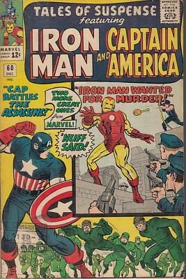 Fl- Iron Man And Captain America N.60 -- Marvel Comics Usa - 1964 - S - Pdx