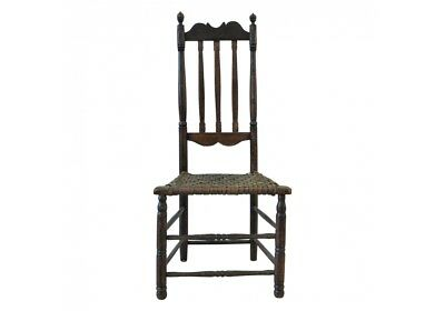 18th Century American Bannister Back Side Chair (51963)